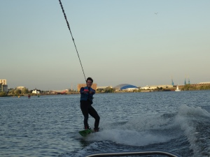 Wakeboarding Olly