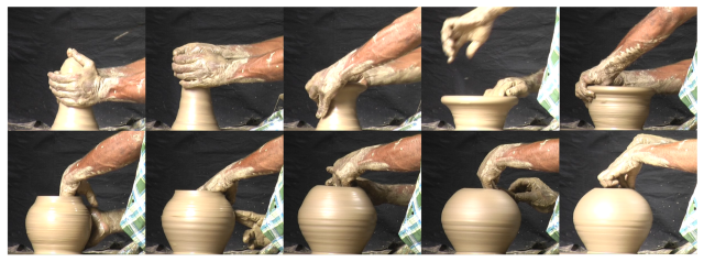 Pottery throwing